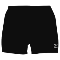 Mizuno Vortex Shorts - Women's - All Black / Black