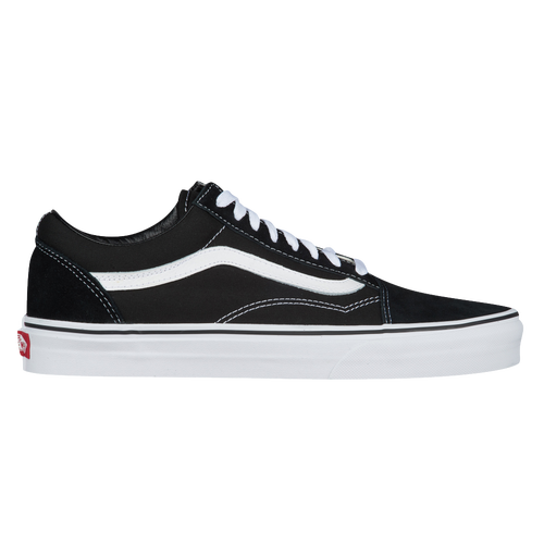 old skool vans mens black
