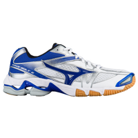 Mizuno Wave Bolt 6 - Women's - White / Blue