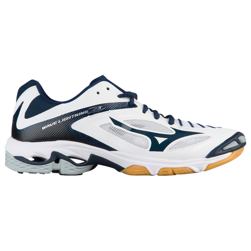 Mizuno Wave Lightning Z3 - Women's Volleyball - White/Navy 02280051