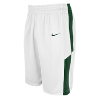Nike Team Elite Franchise Shorts - Men's - White / Dark Green