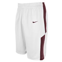 Nike Team Elite Franchise Shorts - Men's - White / Maroon