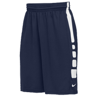 Nike Team Elite Practice Shorts - Men's - Navy / White
