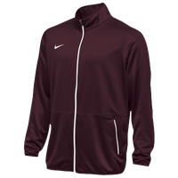 Nike Team Rivalry Jacket - Men's - Maroon / White