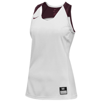 Nike Team Elite Stock Jersey - Women's - White / Maroon