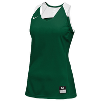 Nike Team Elite Stock Jersey - Women's - Dark Green / White