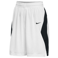 Nike Team Elite Stock Shorts - Women's - White / Black
