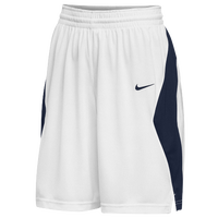 Nike Team Elite Stock Shorts - Women's - White / Navy