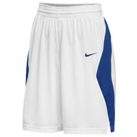 Nike Team Elite Stock Shorts - Women's - White / Blue