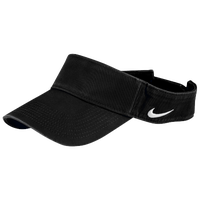 Nike Team Classic Visor - Men's - All Black / Black
