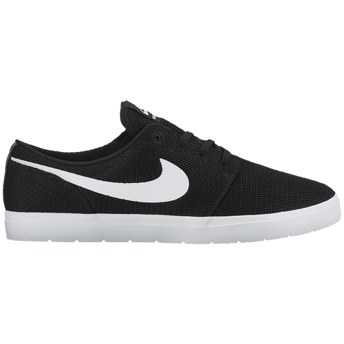 super popular 9e00f 0a5a3 ... czech nike sb portmore hasta anthracite nike sb portmore ii ultralight  mens black white c9ecf 14b7f