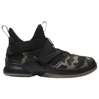 Nike LeBron Soldier XII SFG - Boys' Grade School -  Lebron James - Black / Olive Green