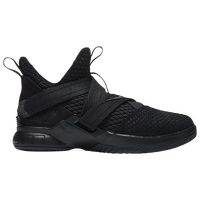 Nike LeBron Soldier XII SFG - Boys' Grade School -  Lebron James - All Black / Black