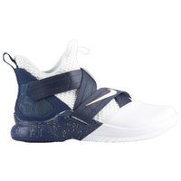 Nike LeBron Soldier XII SFG - Boys' Preschool -  Lebron James - White / Navy