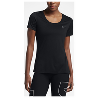 Nike Legend Short Sleeve T-Shirt - Women's - Black / Black