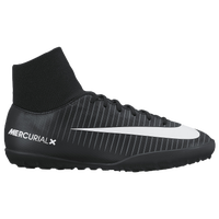 Nike MercurialX Victory VI Dynamic Fit TF - Boys' Grade School - Black / White