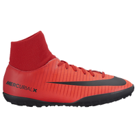 Nike MercurialX Victory VI Dynamic Fit TF - Boys' Grade School - Red / Black