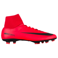 Nike Mercurial Victory VI Dynamic Fit FG - Men's - Red / Black
