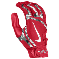 Nike Trout Elite Batting Gloves - Men's - Red / Silver