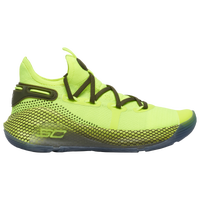 Under Armour Curry 6 - Boys' Grade School -  Stephen Curry - Light Green / Yellow