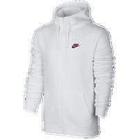 Nike Club Full Zip Fleece Hoodie Mens Casual Clothing