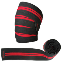 Harbinger Red Line Knee Wraps - Men's - Black / Red