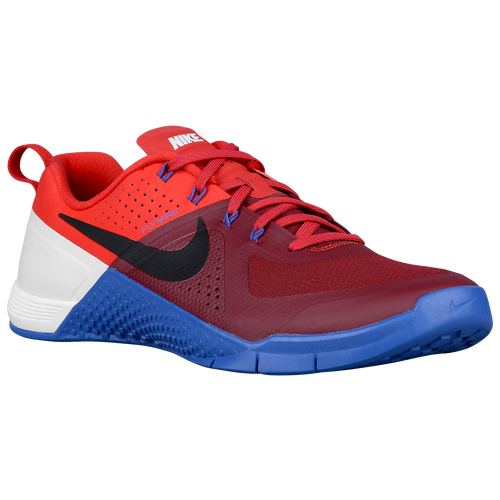 Nike Metcon 1 - Men's - Training - Shoes - Team Red/University Red/White/ Black