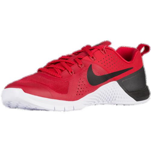 Nike Metcon 1 Mens Training Shoes Gym RedBright CrimsonWhite Black