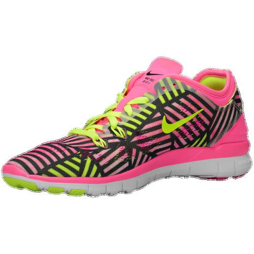 246ffdc54c986 ... france nike free 5.0 tr fit 5 womens training shoes pink pow volt black  e72eb b1dc5