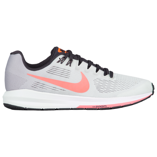 7be79277b0bb4 ... shop nike air zoom structure 21 womens running shoes atmosphere grey  hot punch barely grey oil