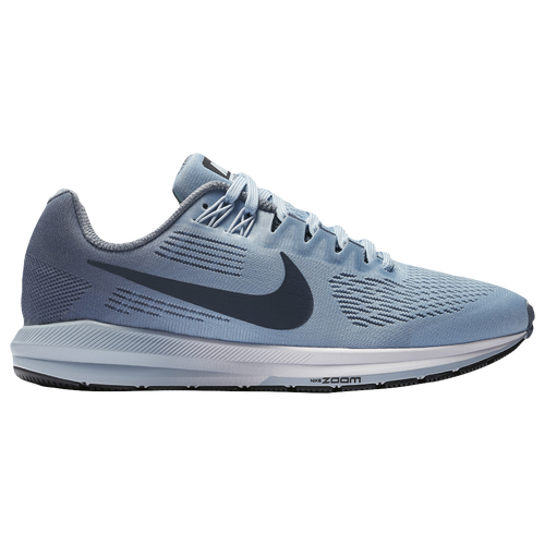 Nike Air Zoom Structure 21 - Women's Running Shoes - Armory Blue/Armory Navy/Cirrus Blue 04704400