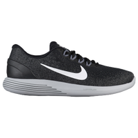 Nike LunarGlide 9 - Men's - Black / White