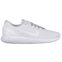 Nike LunarGlide 9 - Men's - Grey / White