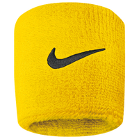 Nike Swoosh Wristbands - Yellow / Black