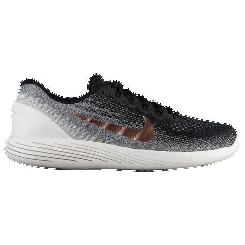 Nike LunarGlide 9 - Men's - Running - Shoes - Black/Metallic Red Bronze/Summit  White-X-Plore
