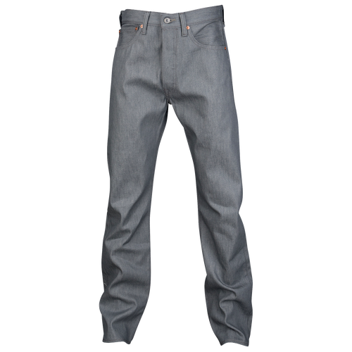 Levis 501 Shrink To Fit Jeans Mens Casual Clothing Silver