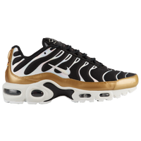 Nike Air Max Plus - Women's - Black / Gold