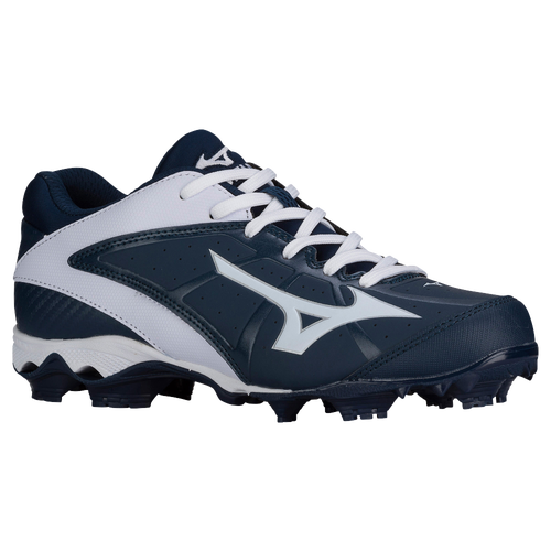 Mizuno 9-Spike Advanced Finch Elite 2 - Women's - Softball - Shoes - Navy/ White