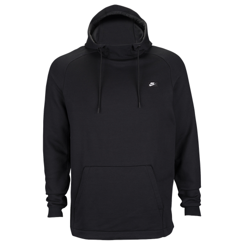 nike modern pull over hoodie men 39 s casual clothing black. Black Bedroom Furniture Sets. Home Design Ideas
