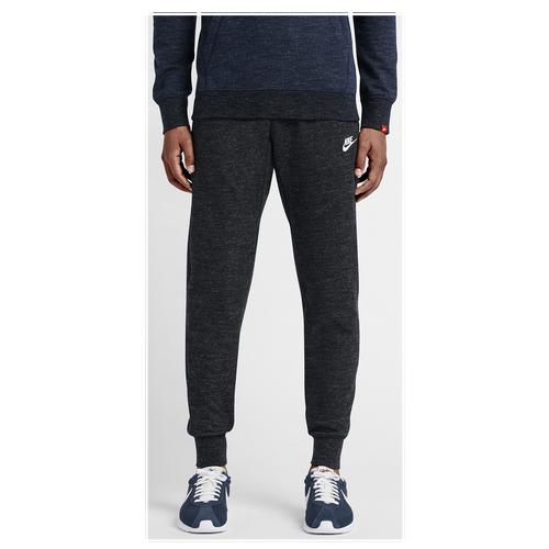 Nike Legacy Jogger - Men's - Casual - Clothing - Black Heather/Black  Heather/Sail