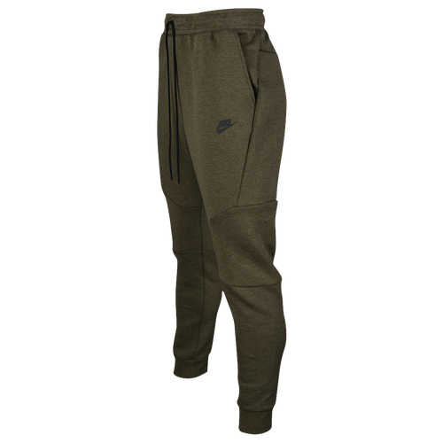 Nike Tech Fleece Jogger - Menu0026#39;s - Casual - Clothing - Medium Olive/Black/Black