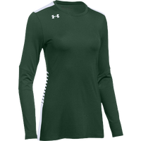 Under Armour Team Endless Power L/S Jersey - Women's - Dark Green / White