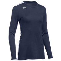Under Armour Team Endless Power L/S Jersey - Women's - Navy / White