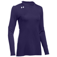 Under Armour Team Endless Power L/S Jersey - Women's - Purple / White