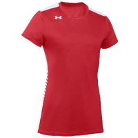 Under Armour Team Endless Power S/S Jersey - Women's - Red / White