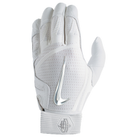 Nike Huarache Elite Batting Gloves - Men's - White / Silver