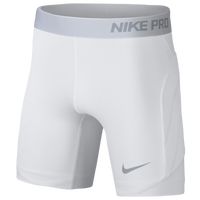 Nike Girls Youth Pop Up Slider - Girls' Grade School - White / Grey