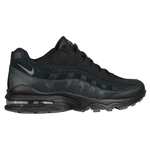 Nike Air Max 95 - Boys' Grade School - Casual - Shoes -  Black/Anthracite/Anthracite