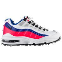 Nike Air Max 95 - Boys' Grade School - White / Blue