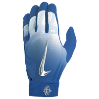 Nike Huarache Elite Batting Gloves - Men's - Blue / Silver